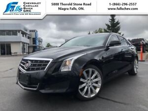 2013 Cadillac ATS 3.6 Luxury  NAV,AWD,SUNROOF,MEMORY SEATS,REARC