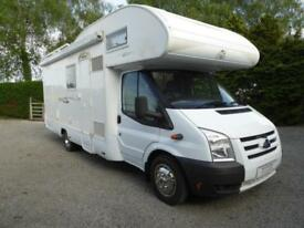Kentucky Corral 4 6 berth rear garage coachbuilt motorhome for sale ref 13099