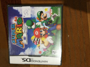 Super Mario 64 DS - black label, brand new, factory sealed