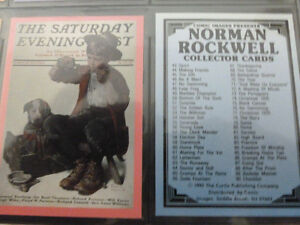 1993 Norman Rockwell Collector Card Set