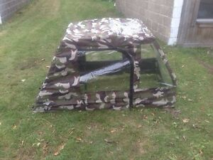 Camo Fabric ATV Enclosure