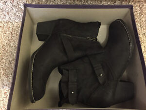 New! Kate & Mel black suede/leather boots ladies size 8.5 Kitchener / Waterloo Kitchener Area image 4