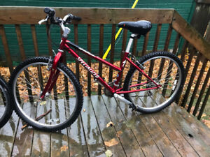 Women's Specialized Mountain Bike