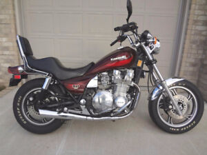 Looking To Buy a 1980s Kawasaki 1100 LTD or Spectre Motorcycle .