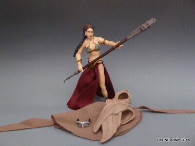 STAR WARS Princess Leia VINTAGE COLLECTION  VC88 JABBA SAIL BARGE SLAVE KHETANNA (Leia Slave)