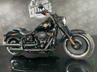 Harley Davidson FLFBS Fatboy 114 30th Anniversary Edition 5 MILES ON THE CLOC...