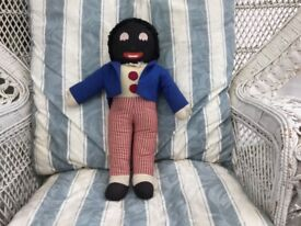 GOLLIWOG. EXCEPTIONALLY RARE AND VINTAGE AND LARGE SIZE GOLLIWOG. 50 YEARS OR MORE