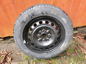 Continental ContiEcoContract 3 (155/65 R14 75T) 8mm tyre & alloy rim