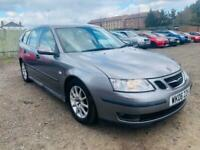 2006 grey saab 9-3 estate 2.0 turbo petrol automatic ideal family car