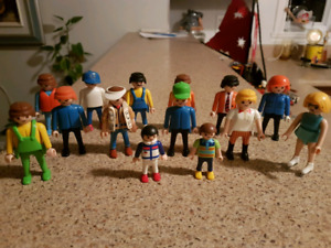Bonhommes playmobile