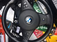 BMW E60 M Sport steering wheel with airbag