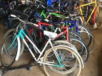 16 Adult bicycles job lot fix up for students and make some cash