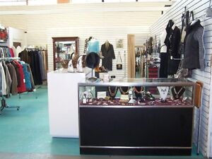 Two Glass Display Showcases/Cabinets - Great Condition - SOLID!