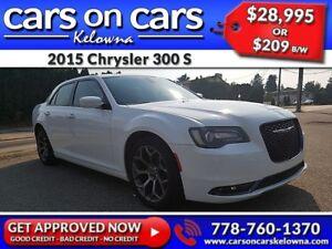 2015 Chrysler 300 S w/Leather, PanoRoof, Beats Audio, Navi $209B