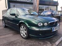 2004 54 Jaguar X-TYPE 2.5 V6 SPIRIT 1 OWNER 9 JAG SERVICES