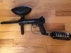 BT-4 PAINTBALL MARKER IN EXCELLENT CONDITION
