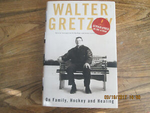 Walter Gretzky, Autographed book