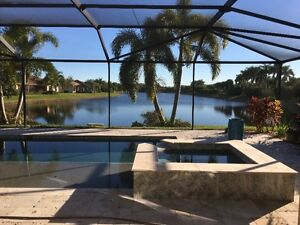 Naples FL 3-BR House with Pool & Spa in The Quarry