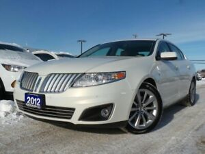 2012 Lincoln MKS BASE 3.5L V6 TT AWD LEATHER NAVIGATION