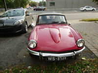 Triumph Spitfire antique