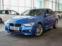 2015 BMW 3 Series 320d M Sport 4dr Step Auto [Business Media] Saloon Diesel Auto