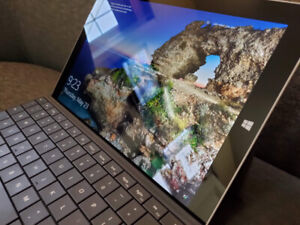 Microsoft surface 3 with detachable keyboard