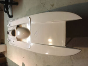 Catamaran Rc Boat Hull. 48""