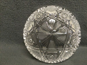 Collectible Antique Crystal Candy Dish London Ontario image 3