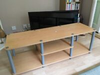 FREE beech effect TV stand/coffee table/ side unit