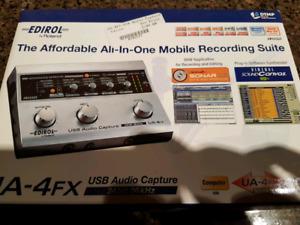 Edirol UA 4fx USB Audio capture 24 bit interface