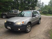 2007 Subaru Forester AWD Manual  $2200 Moving Need Gone