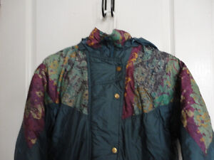 Girl's Nevada blue teal coloured jacket coat hood Size XL 14 London Ontario image 2
