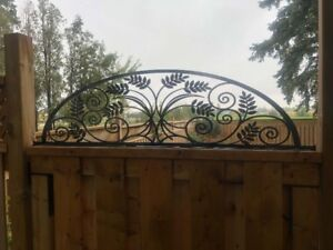 Fence Inserts, Gate Toppers, Home Décor, Custom Metal Designs