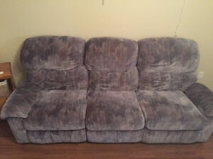 Couch and Chairs - 4 PIECES