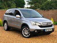 2008 58, Honda CR-V 2.2 CTDI EX Manual + PANORAMIC ROOF + SAT NAV