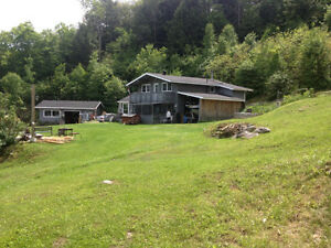 Cottage house with garage on 6 acres in Algonquin highlands. Kawartha Lakes Peterborough Area image 4
