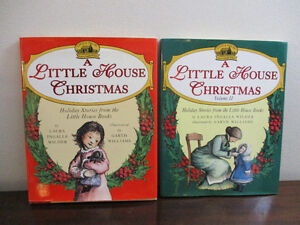 Set of 2 Little House on the Prairie Christmas Books