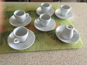 ORLY GLOBAL espresso mugs and saucers