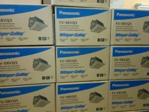 PANASONIC Exhaust Fans  SMOKE & STROBE COMBO 3-IN-1 LED
