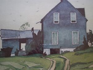 "A.J. Casson-""Farm House, Bancroft""-Limited Edition Print Kitchener / Waterloo Kitchener Area image 8"