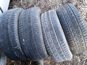 Set of 4 235 60 r18 continental summer tires