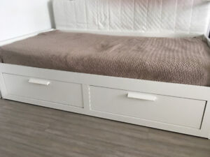 Ikea Day Bed + Mattress + Bedbug cover for Sale
