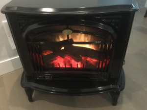 DIMPLEX ELECTRIC FIREPLACE STOVE