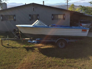 16ft. boat for sale, motor not included