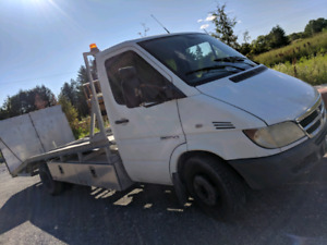 2006 Dodge sprinter Flat bed tow truck