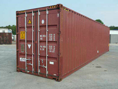 40ft 86 High Shipping Container In Cargo-worthy Condition Miami Fl