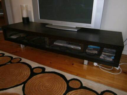 Freedom entertainment TV unit chocolate wood Cammeray North Sydney Area Preview