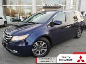 2017 Honda Odyssey Touring  NAVI-LEATHER-SUNROOF