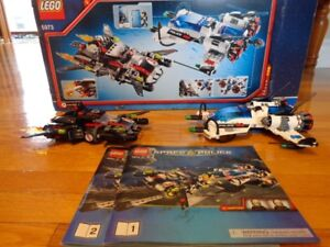 Lego space police 5973, 5983