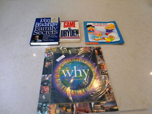 4 Books - Why Am I on this Earth?, The Game , Family Secrets ++